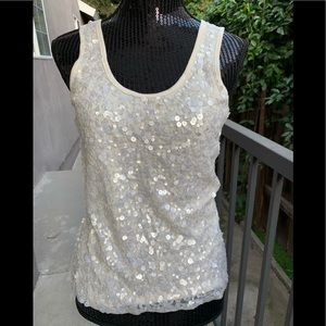 Gorgeous sequined tank top